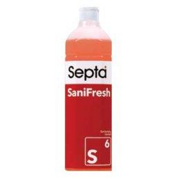 Septa SaniFresh S6 profesjonalny płyn do doczyszczania sanitariatów z neutralizacją zapachów