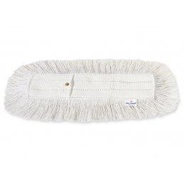 Wkład bawełniany do mopa z zatrzaskami i kieszeniami 100% bawełna do mopowania na sucho