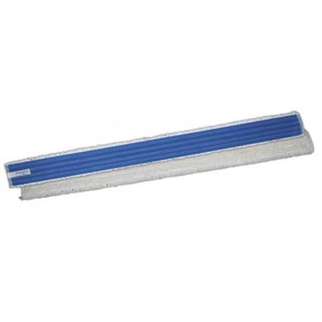 Wkład rapido mikrofaza biało niebieski Velcro do mopowania na sucho