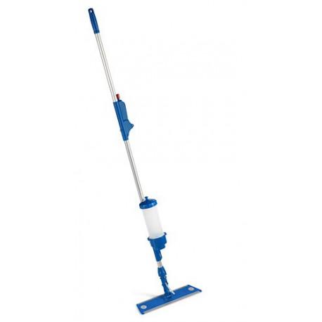 Stelaż ze zbiornikiem mop płaski unilav na rzep do mycia podłóg na wilgotno i dezynfekcji - pureco.pl