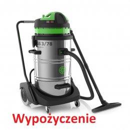 Wypożyczenie odkurzacza trzysilnikowego na sucho mokro Topper 3/78 pureco