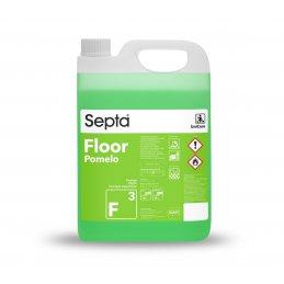 Floor F3 Fresh Pomelo - 5L -profesjonalny odświeżający płyn do mycia podłóg - pureco.pl