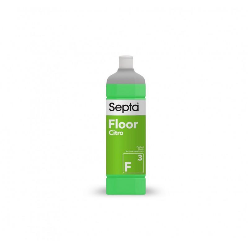 Floor F3 Fresh Citro - 1L - płyn zapachowy do mycia podłóg w firmie - pureco.pl