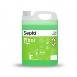 Floor F3 Fresh Citro - 5L - profesjonalny płyn do mycia podłóg w firmie - pureco.pl