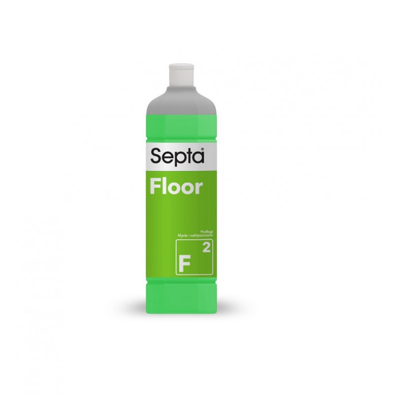 Floor F2 - 1L - profesjonalny nabłyszczający płyn do podłóg - pureco.pl
