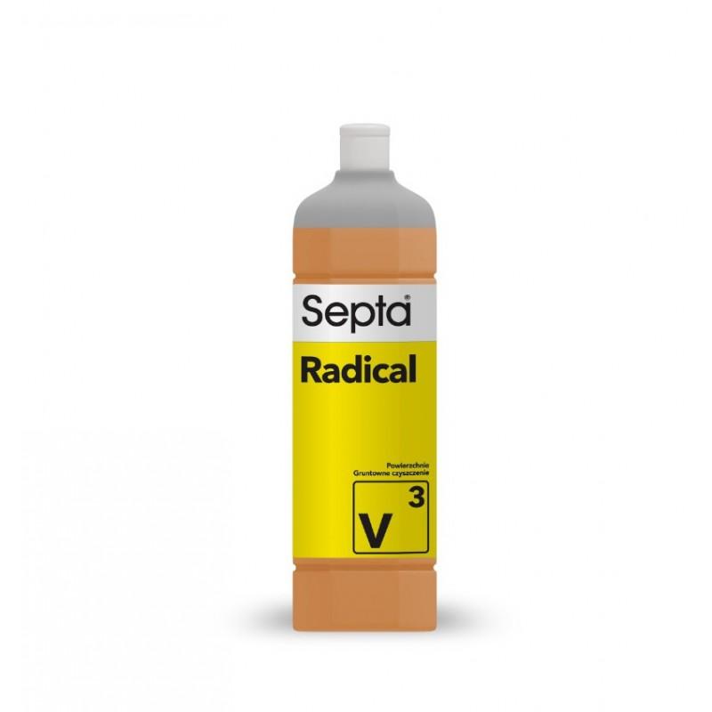 Radical V3 - 1L - profesjonalny najmocniejszy płyn do doczyszczania bardzo brudnej podłogi - pureco.pl