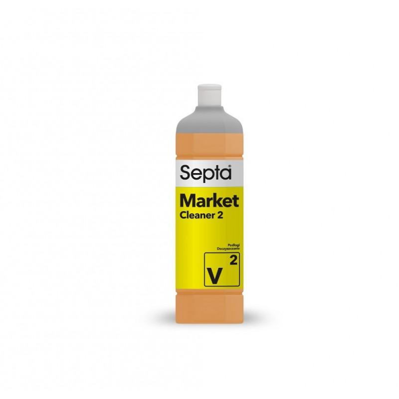 MarketCleaner 2 V2 - 1L - mocny płyn do mycia podłóg - pureco.pl