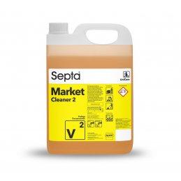 MarketCleaner 2 V2 - 5L - mocny płyn do mycia podłogi - zostawia połysk - pureco.pl