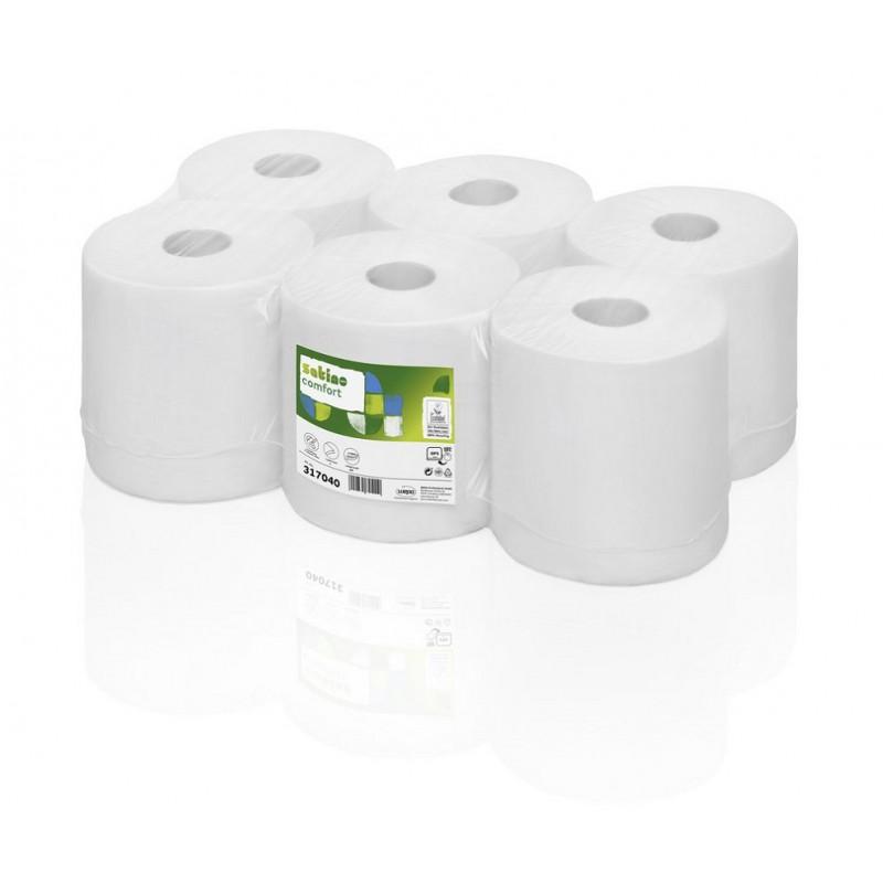 Ręcznik papierowy w roli centralnego dozowania makulatura Comfort, 300 m, 6 szt, 1 warstwa Wepa 317040-pureco.pl