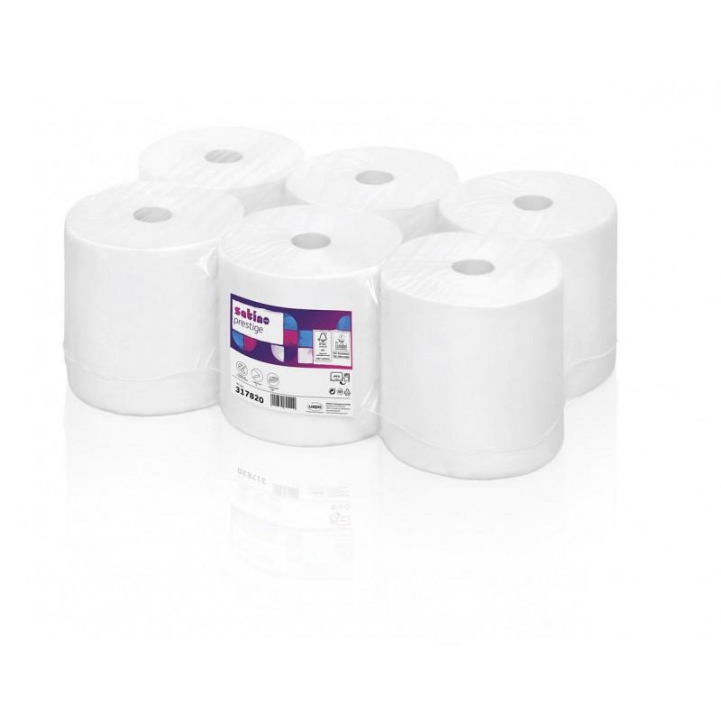 Ręcznik papierowy PT1 w roli celuloza prestige, 150 m, 6 szt, 2 warstwy Wepa 317070 - pureco.pl