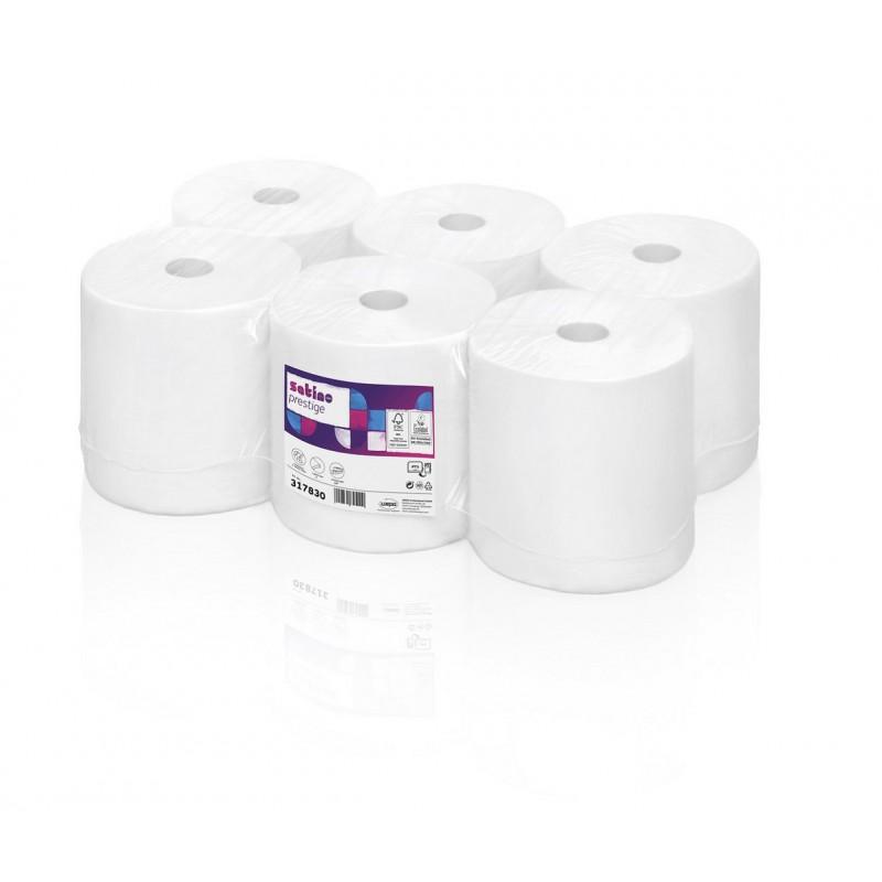 Ręcznik papierowy PT1 w roli celuloza prestige, 220 m, 6 szt, 2 warstwy Wepa 317060 317830 pureco.pl
