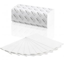 Ręcznik PT3 papierowy listkowy składany V makulatura Comfort, 3200 szt, 2 warstwy Wepa 277190 pureco.pl