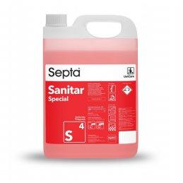 Septa Sanitar Specjal S4 profesjonalny płyn do czyszczenia toalety i kabiny prysznicowej - pureco.pl