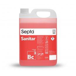 Septa Sanitar Basic Bc3 podstawowy płyn do doczyszczania umywalki i kranu - pureco.pl
