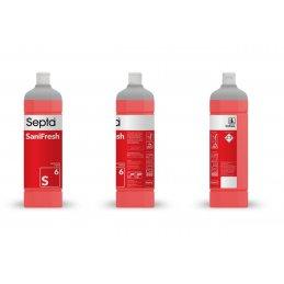 Septa SaniFresh S6 profesjonalny płyn do doczyszczania sanitariatów i skutecznie usuwa przykre zapachy w toalecie - pureco.pl