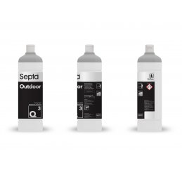 Septa Outdoor Q3 płyn do czyszczenia elewacji płotu i dachówki  - pureco.pl