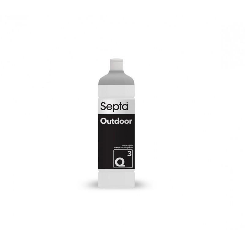 Septa Outdoor Q3 płyn do czyszczenia elewacji płotu i dachówki - 1L - pureco.pl