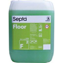 Septa Floor F 2 -  profesjonalny nabłyszczający płyn do mycia podłóg bezpieczny - pureco.pl
