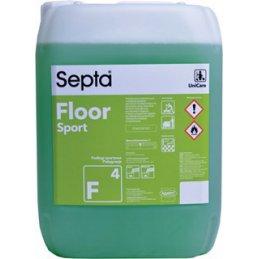 Septa Floor Sport F 4 profesjonalny płyn do mycia podłóg z silną powłoką antypoślizgową - pureco.pl