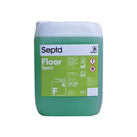 Septa Floor Sport F 4 profesjonalny płyn do mycia podłóg z silną powłoką antypoślizgową