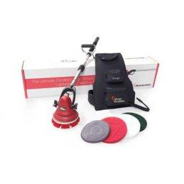 Motorscrubber MS2000 JET mała ręczna szorowarka  bateryjna do detalingu i schodów