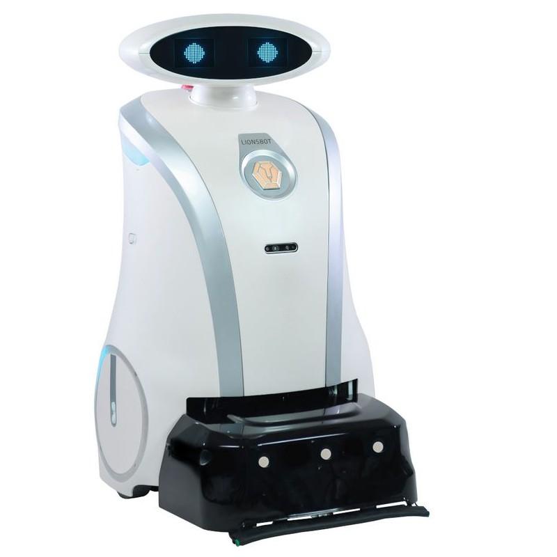 LEO SCRUB autonomiczny robot szorujący. Pureco Bydgoszcz