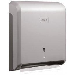 Dozownik do ręcznika papierowego typu zz JVD Cleanline 899733 szary metalik