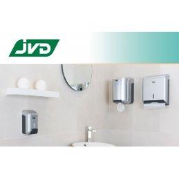 Dozownik do ręczników w roli midi JVD 899736 szary metalik