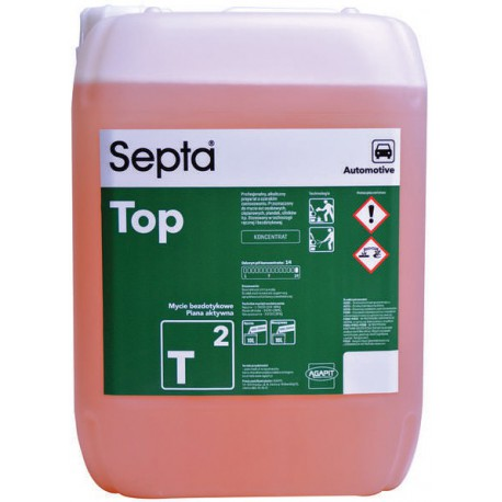 Septa Top T 2 profesjonalny płyn do mycia samochodu o szerokim zastosowaniu