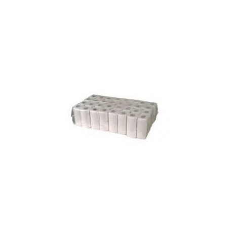 Papier toaletowy mała rolka biały makulatura eco premium 64 szt.