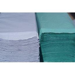 Ręcznik ZZ Biały 4000 Eco makulatura premium jedna warstwa
