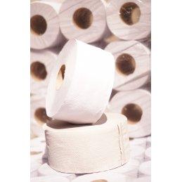 Papier toaletowy duża rolka Jumbo biały makulatura eco premium12 szt.