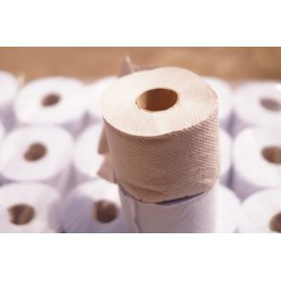 Papier toaletowy mała rolka szary makulatura eco premium 64 szt.