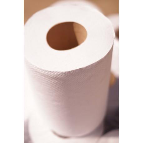 Ręcznik w roli Mini biały makulatura eco premium 12 szt.
