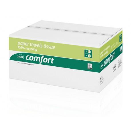 Ręcznik papierowy składany V makulatura Comfort, 3200 szt, 2 warstwy Wepa 277190