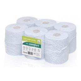 Papier toaletowy Jumbo duża rolka makulatura Comfort, 175 m, 12 szt, 2 warstwy Wepa 316780