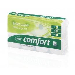 Papier toaletowy mała rolka makulatura Comfort, 250 listków, 64 szt, 2 warstwy Wepa 027050