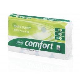 Papier toaletowy mała rolka makulatura Comfort, 250 listków, 72 szt, 3 warstwy Wepa 037060