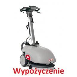 Wypożyczenie małej maszyny myjącej i zbierającej Vispa 35 e comac