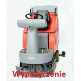 Wypożyczenie samojezdnej maszyny do mycia podłóg Hako B 750 Bydgoszcz