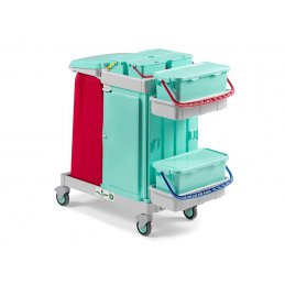 Ab Plus system Alpha wózek serwisowy do placówek medycznych