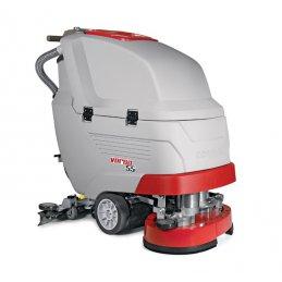 VERSA 55 BT COMAC najnowocześniejsza dwuszczotkowa maszyna do mycia podłóg z trakcją