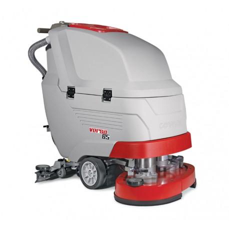 VERSA 65 BT COMAC najnowocześniejsza dwuszczotkowa maszyna do mycia podłóg z trakcją