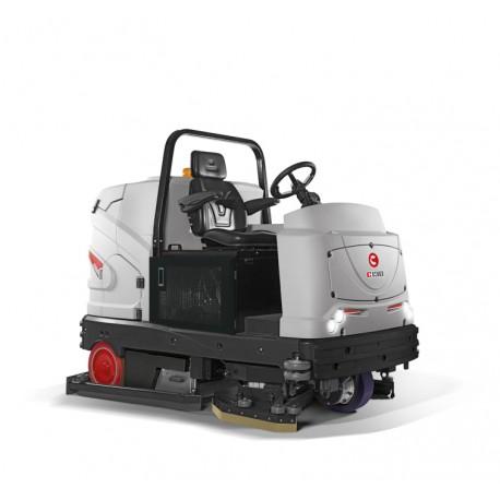 CS 130 BS/D/Bi-Fuel Comac Największa i najnowocześniejsza maszyna do czyszczenia podłów w najcięższych warunkach