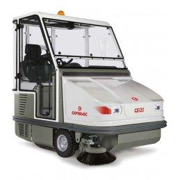 CS 100/120 B/D/LPG Comac najlepsza komunalna samojezdna duża zamiatarka bezpyłowa