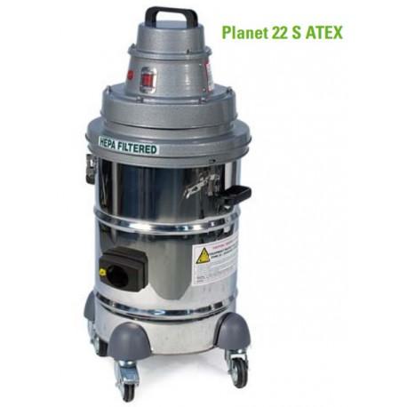 Planet 22S Atex Ex Specjalistyczny odkurzacz przemysłowy red line