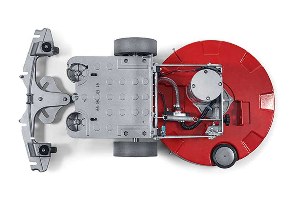maszyna do sprzątania podłóg nowoczesna aluminiowa rama