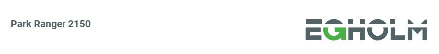 Park ranger 2150 egholm logo