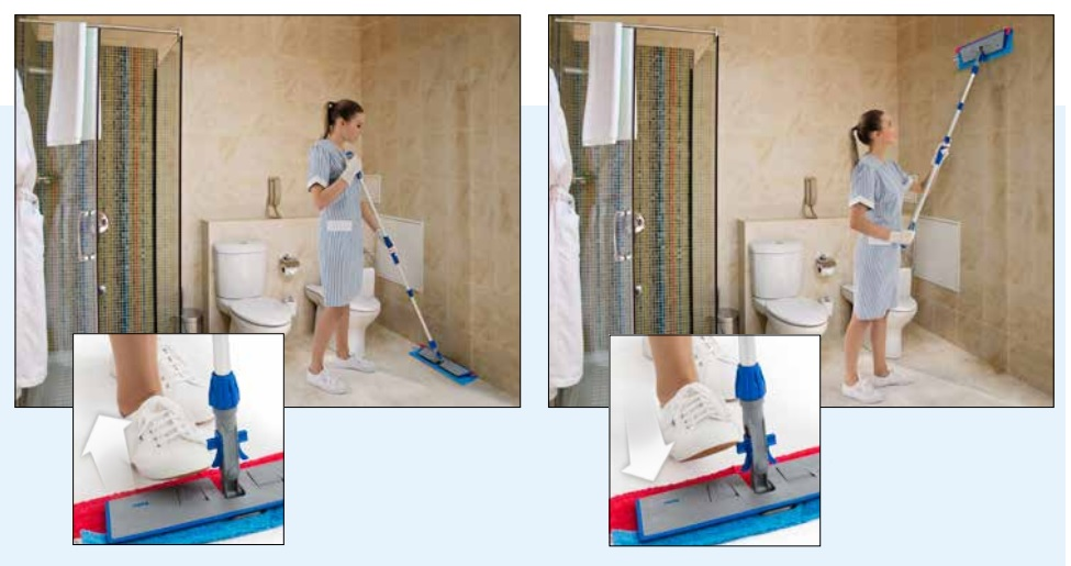 łatwe czyszczenie podłogi i ścian