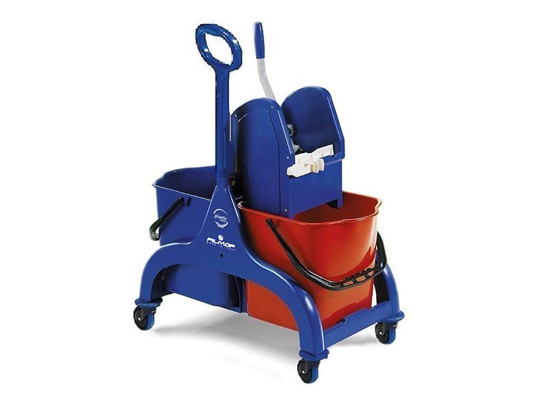 profesjonalny wózek dwuwiaderkowy fred filmop